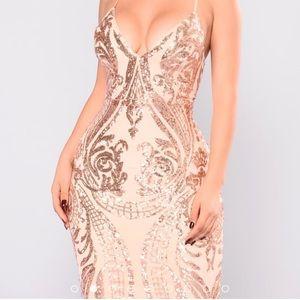 Fashion Nova Sequin Dress